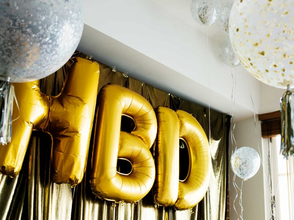 Metallic Gold Color Jumbo Balloons
